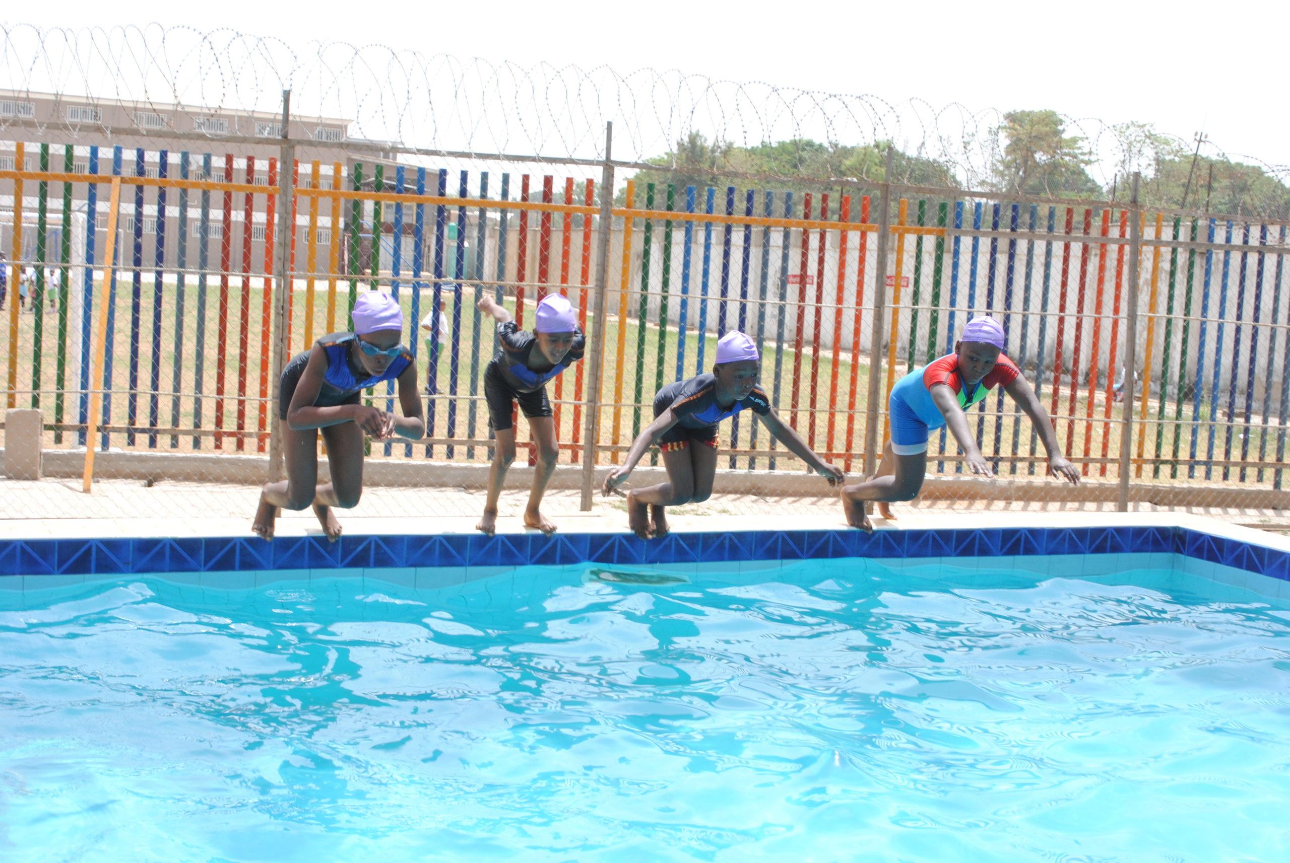 Danbo Schools swimming activity
